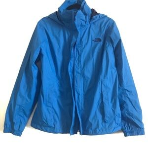 The North Face Resolve Womens Hooded Jacket Sz L